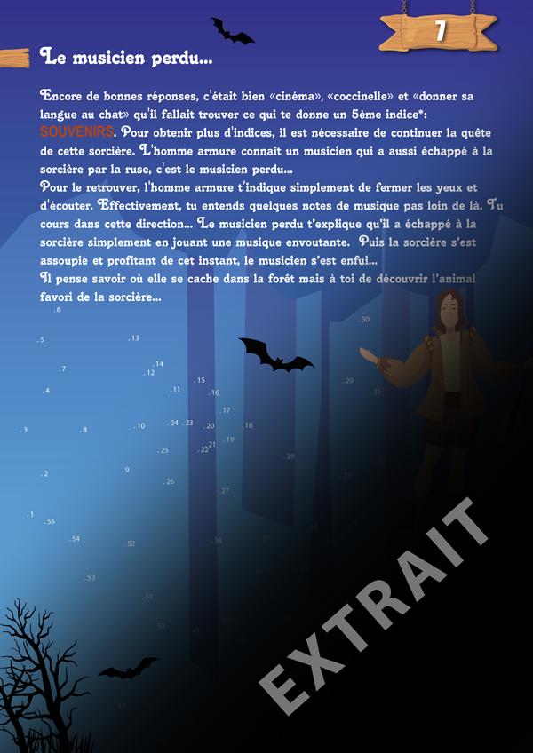 organiser une chasse au tresor sur le thème d'Halloween